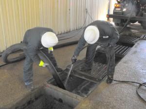 Čišćenje separatora